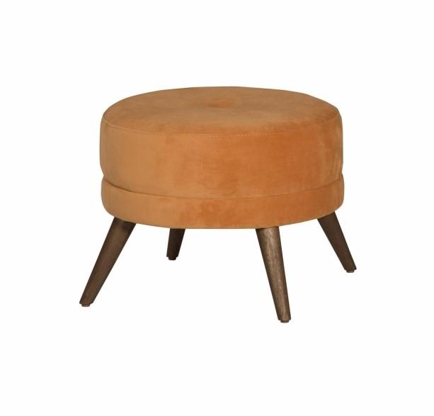 Bibi Round Footstool by Jonathan Louis