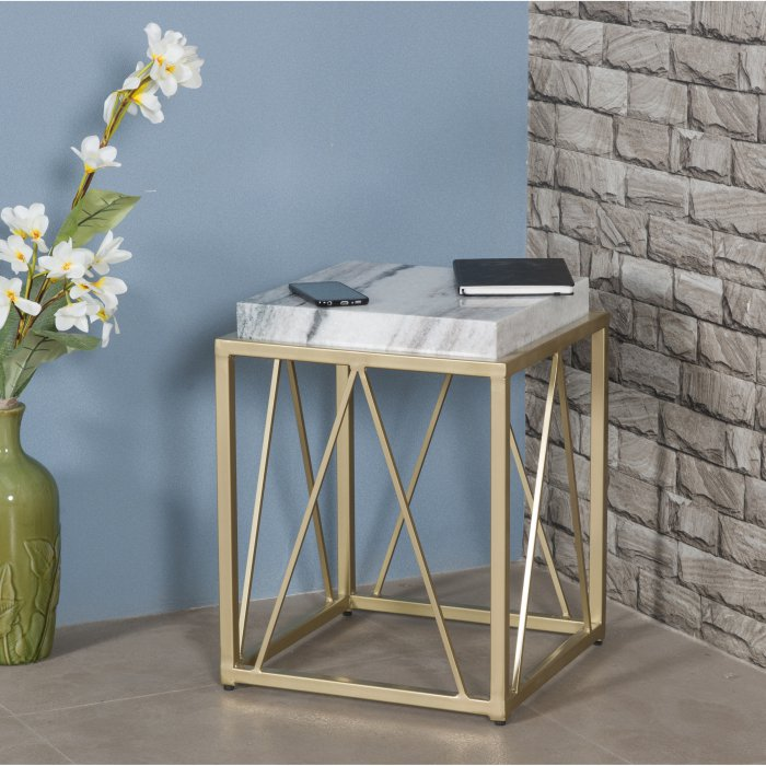 Marble Accent Table by Coast to Coast Mums Furniture Carmel CA