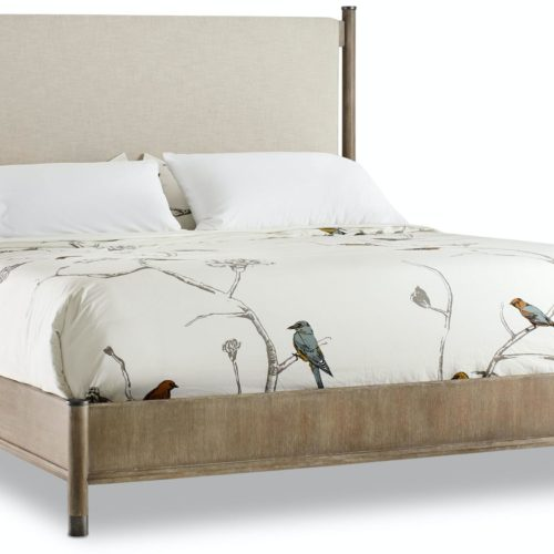Hooker Furniture Affinity Queen Upholstered Bed at Mums Place Furniture Monterey CA