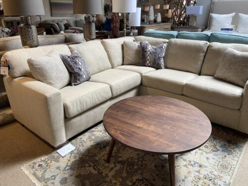 Flexsteel Bryant Sectional sofa at Mums Place Furniture Carmel CA