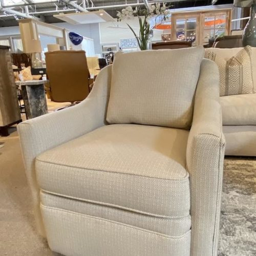 Rowe Furniture Hollins Swivel Chair at Mums Place Furniture Monterey CA