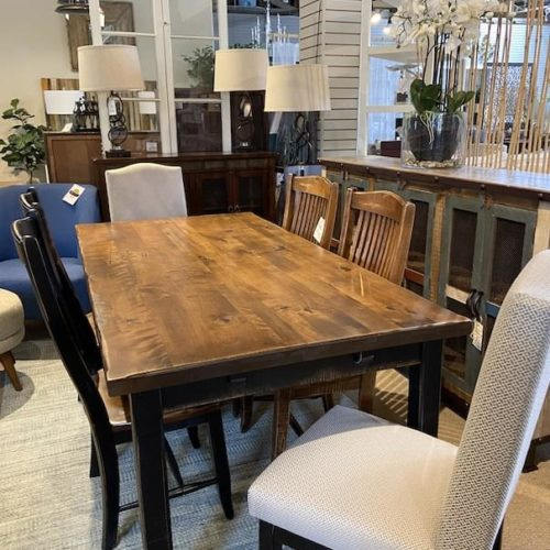Canadel Champlain Dining Collection - Upholstered Chair at Mums Place Furniture Carmel CA