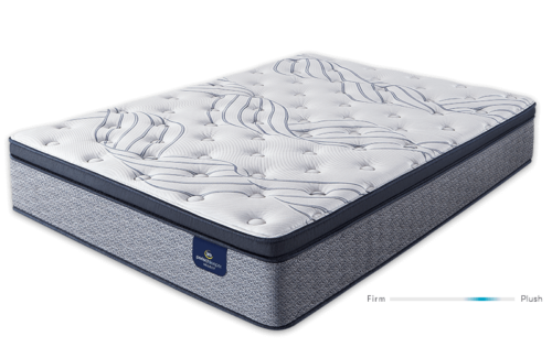 Serta Kleinmon II Pillow Top Plush mattress at Mums Place Furniture Monterey CA