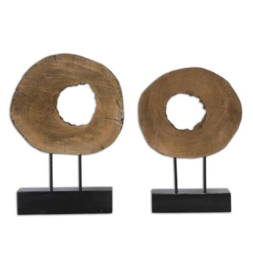 Uttermost Ashlea Sculptures at Mums Place Furniture Monterey CA