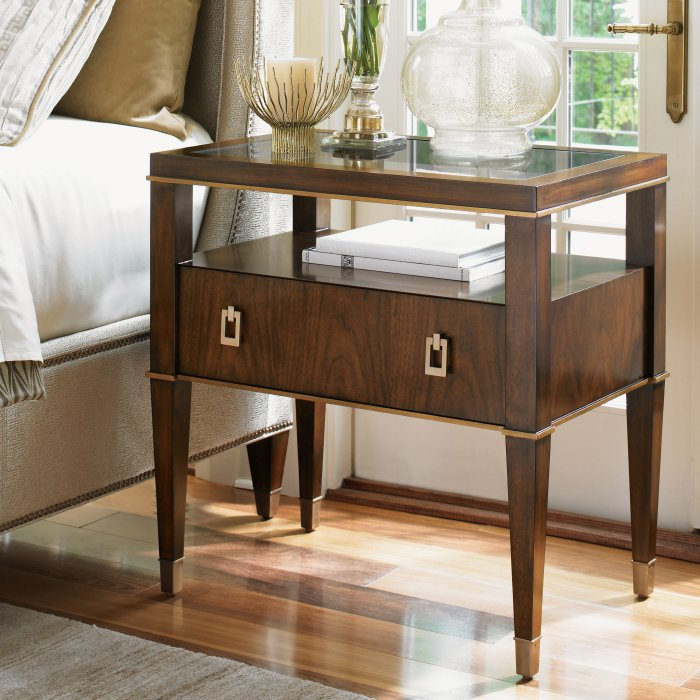 Copley Nightstand by Lexington Mums Furniture store Carmel CA